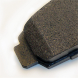 KFE Brake Systems Semi-Metallic Pad Chamfer Edges
