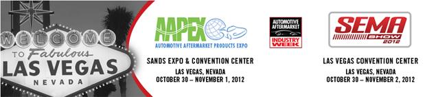 SEMA AAPEX Annual Trade Show 2012