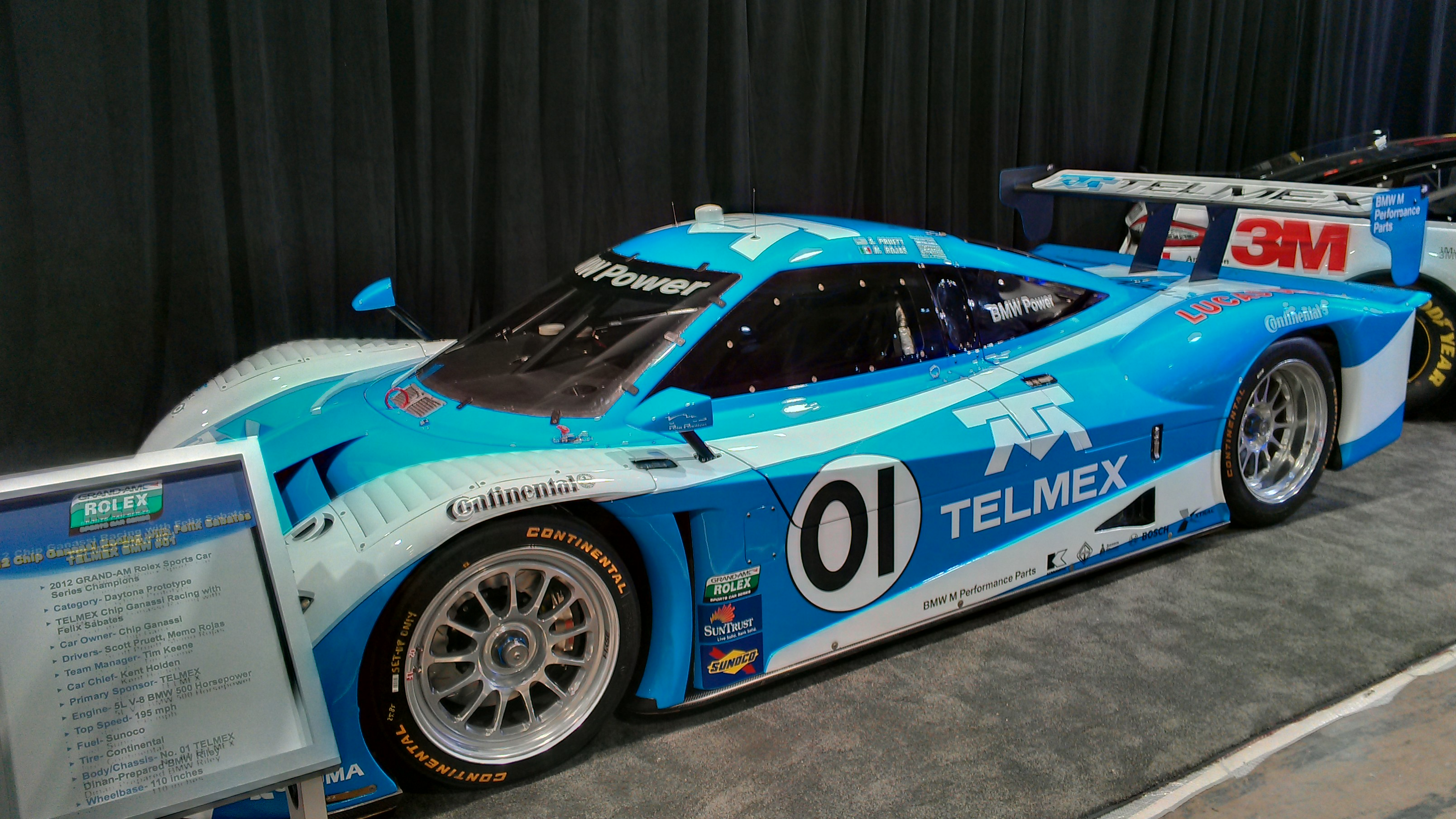SEMA 2012 Telmex GT