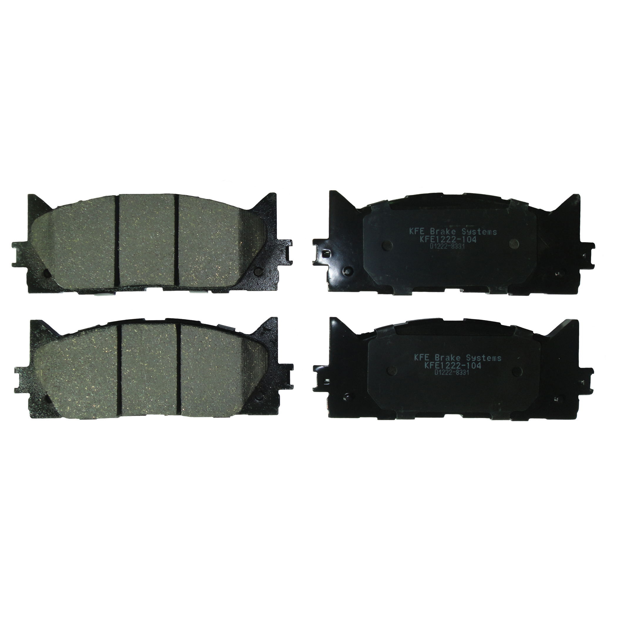 KFE1222-104 Ultra Quiet Advanced Brake Pad