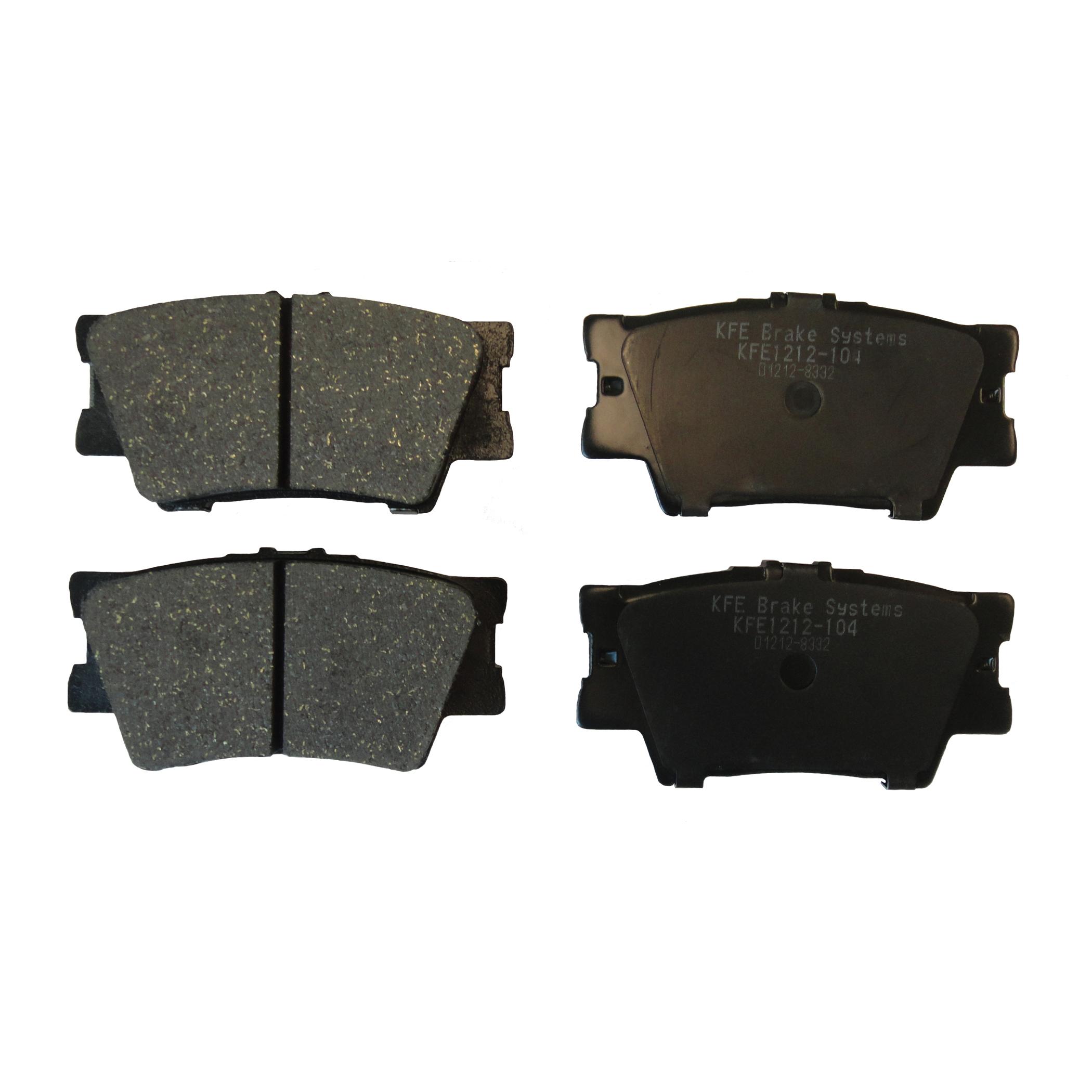 KFE1212-104 Ultra Quiet Advanced Brake Pad