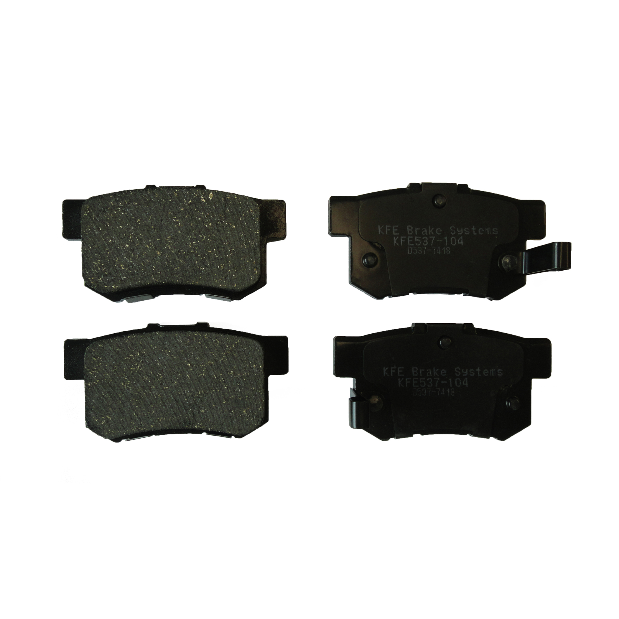 KFE537-104 Ultra Quiet Advanced Brake Pad