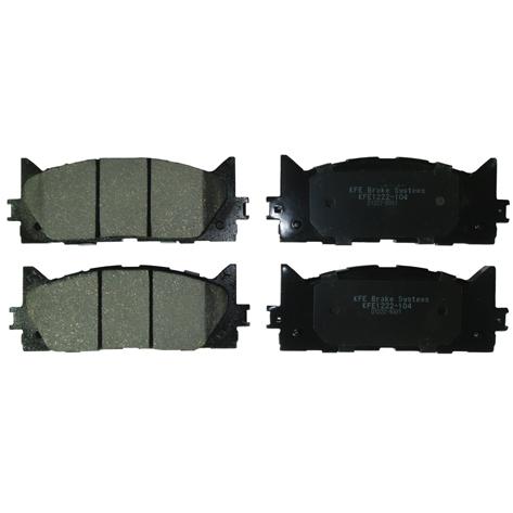 KFE1222-104 Ultra Quiet Advanced Ceramic Brake Pad