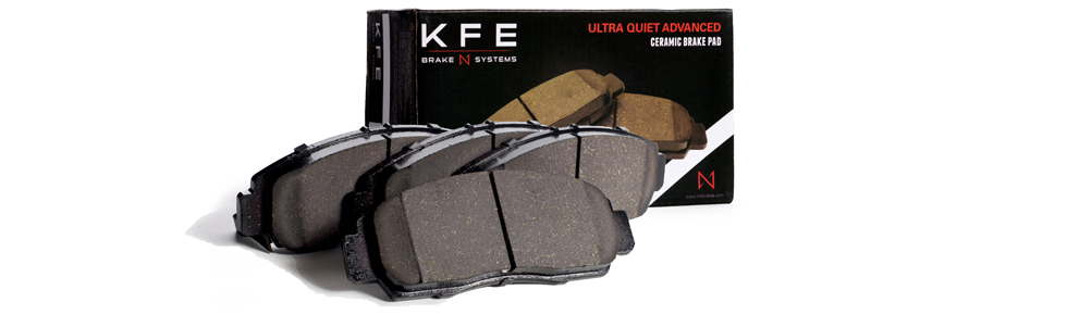 KFE Ultra Quiet Advanced Brake Pad Headers