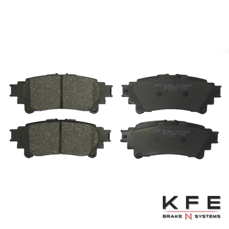 KFE1391-104 Ultra Quiet Advanced Ceramic Brake Pad