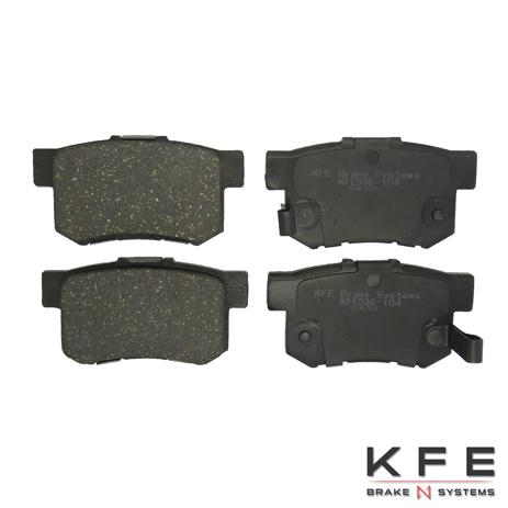 KFE Advanced Ultra Quiet Ceramic Brake Pad - KFE536-104