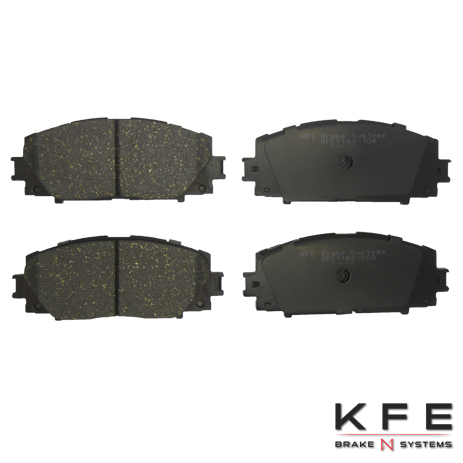 KFE Ultra Quiet Advanced Ceramic Brake Pads - KFE1184-104