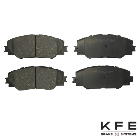 KFE Ultra Quiet Advanced Ceramic Brake Pad - KFE1211-104