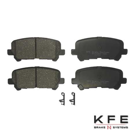 KFE Ultra Quiet Advanced Ceramic Brake Pad - KFE1281-104