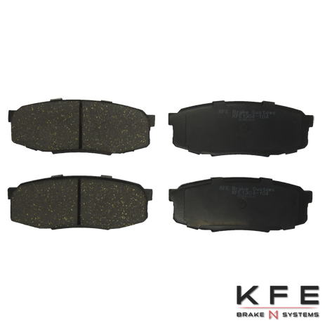 KFE Ultra Quiet Advanced Ceramic Brake Pad - KFE1304-104