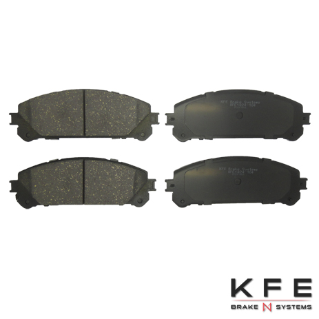 KFE Ultra Quiet Advanced Ceramic Brake Pad - KFE1324-104