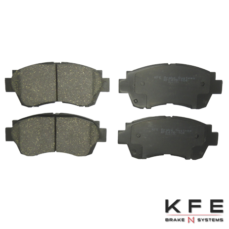 KFE Ultra Quiet Advanced Ceramic Brake Pad - KFE476-104
