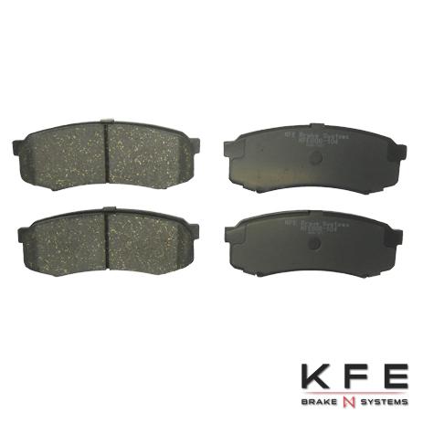KFE Ultra Quiet Advanced Ceramic Brake Pad - KFE606-104