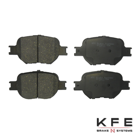 KFE Ultra Quiet Advanced Ceramic Brake Pad - KFE817-104