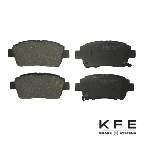 KFE Ultra Quiet Advanced Ceramic Brake Pad - KFE822-104
