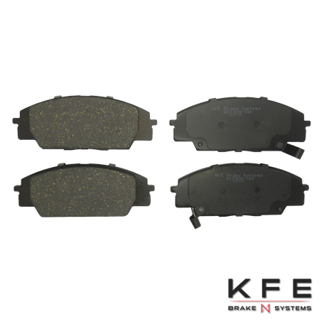 KFE Ultra Quiet Advanced Ceramic Front Brake Pad - KFE829
