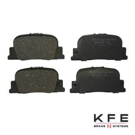 KFE Ultra Quiet Advanced Ceramic Brake Pad - KFE835-104