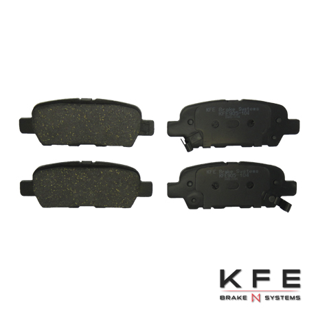 KFE Ultra Quiet Advanced Ceramic Brake Pad - KFE905-104