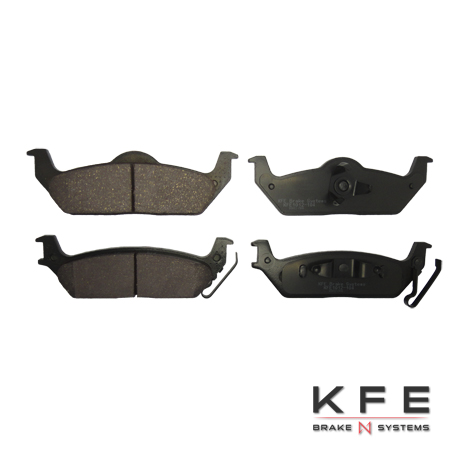 KFE1012-104 Quiet Advanced Ceramic Brake Pad