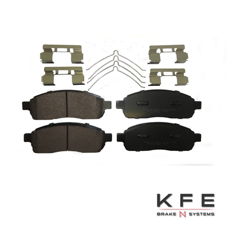 KFE1083-104 Ultra Quiet Advanced Ceramic Brake Pad