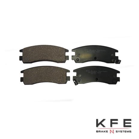 KFE698-104 Ultra Quiet Advanced Ceramic Brake Pad