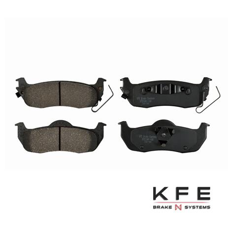 KFE Ultra Quiet Advanced Ceramic Brake Pad - KFE1041-104