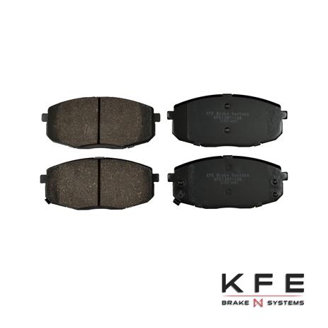 KFE Ultra Quiet Advanced Ceramic Brake Pad - KFE1397-104