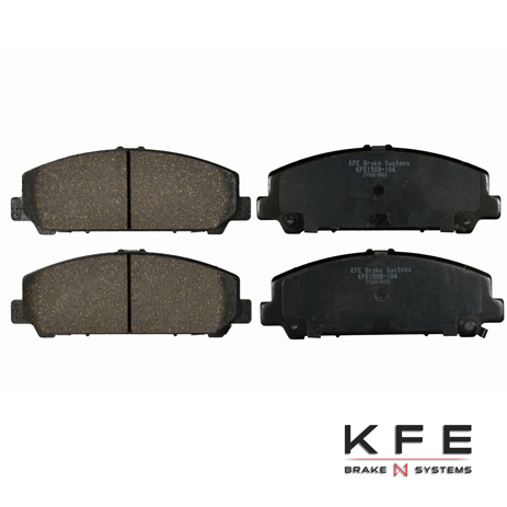 KFE Ultra Quiet Advanced Ceramic Brake Pad - KFE1509-104