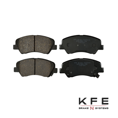 KFE Ultra Quiet Advanced Ceramic Brake Pad - KFE1593-104