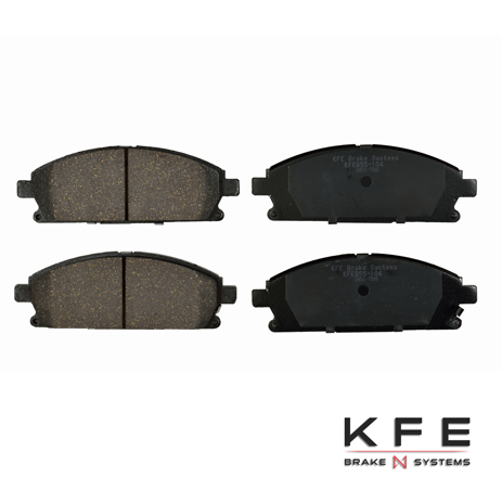 KFE Ultra Quiet Advanced Ceramic Brake Pad - KFE855-104