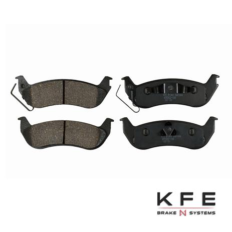 KFE932-104 KFE Ultra Quiet Advanced Rear Ceramic Brake Pad