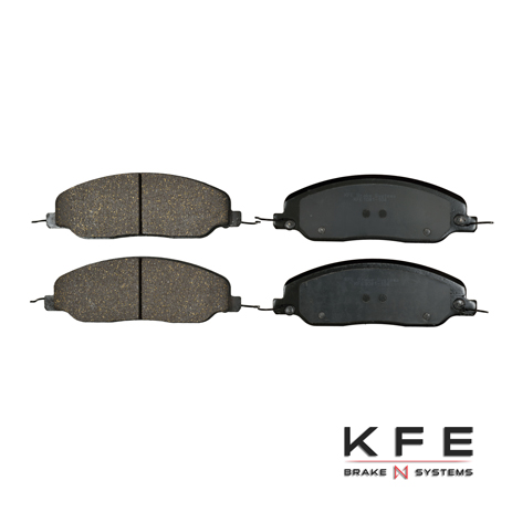 KFE1081-104 Ultra Quiet Advanced Ceramic Brake Pad
