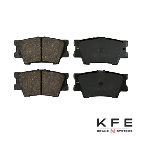 KFE1212-104 Ultra Quiet Advanced Ceramic Brake Pad