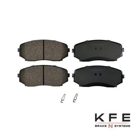 KFE1258-104 Ultra Quiet Advanced Ceramic Brake Pad