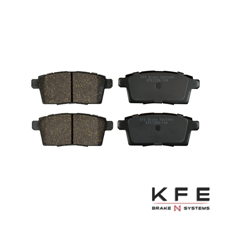 KFE1259-104 Ultra Quiet Advanced Ceramic Brake Pad
