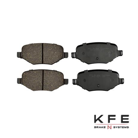 KFE1377-104 Ultra Quiet Advanced Ceramic Brake Pad