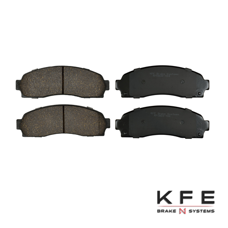 KFE833-104 Ultra Quiet Advanced Ceramic Brake Pad