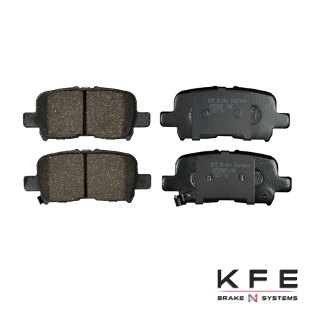 KFE Ultra Quiet Advanced Ceramic Brake Pad - KFE865-104