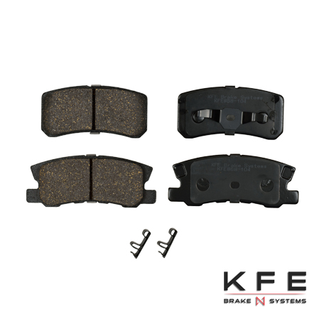 KFE868-104 Ultra Quiet Advanced Ceramic Brake Pad