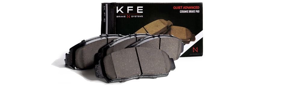 KFE Quiet Advanced Brake Pad Headers