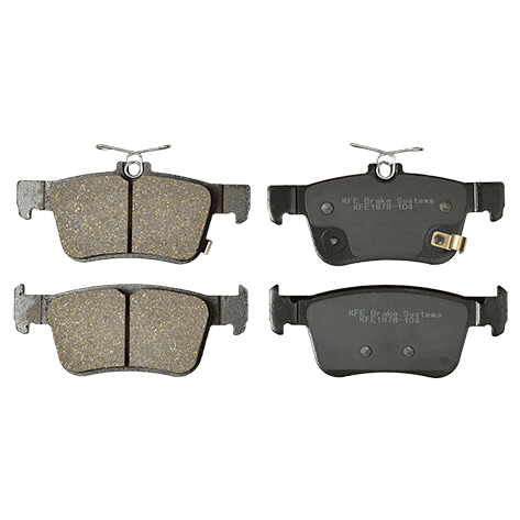 KFE1878-104 Ultra Quiet Advanced Ceramic Brake Pad