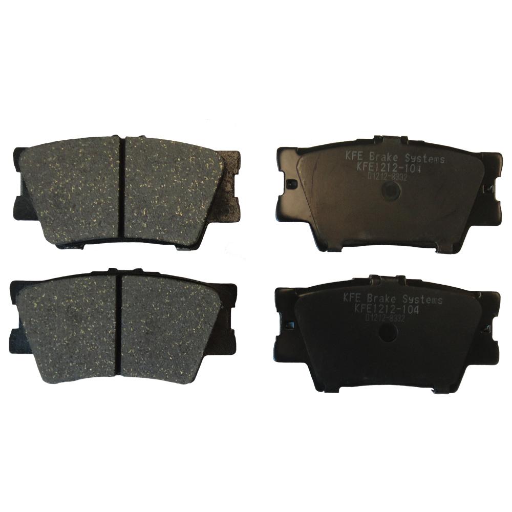 KFE1212-104 Ultra Quiet Advanced Ceramic Brake Pad