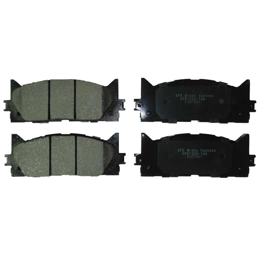 KFE1222-104 Ultra Quiet Advanced Ceramics Brake Pads