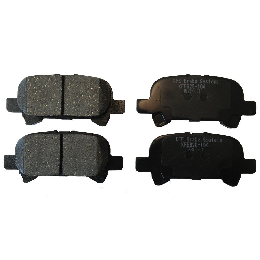kfe828-104 KFE Ultra Quiet Advanced Ceramic Brake Pad