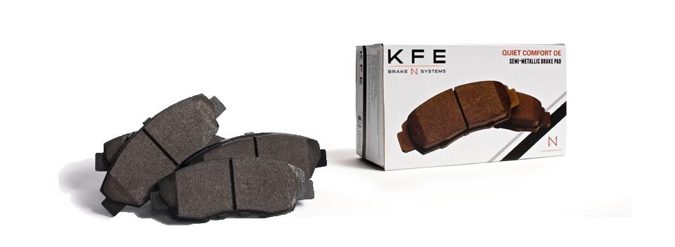 KFE Quiet Comfort OE Brake Pads