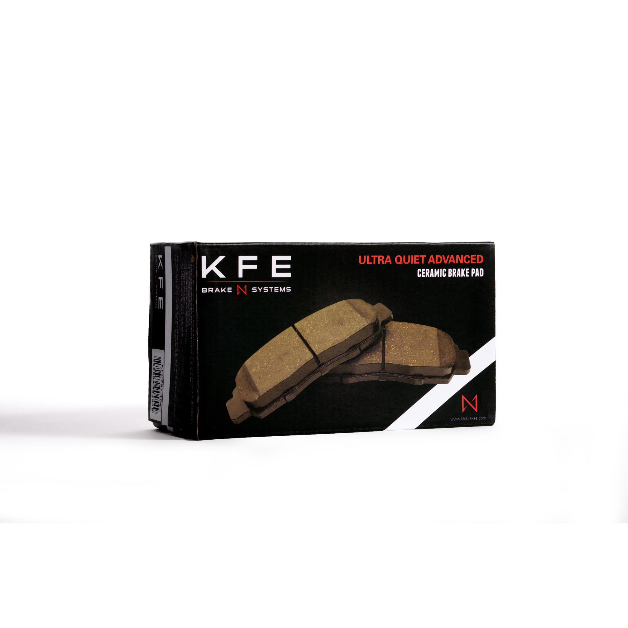 KFE Ultra Quiet Advanced Brake Pad Box