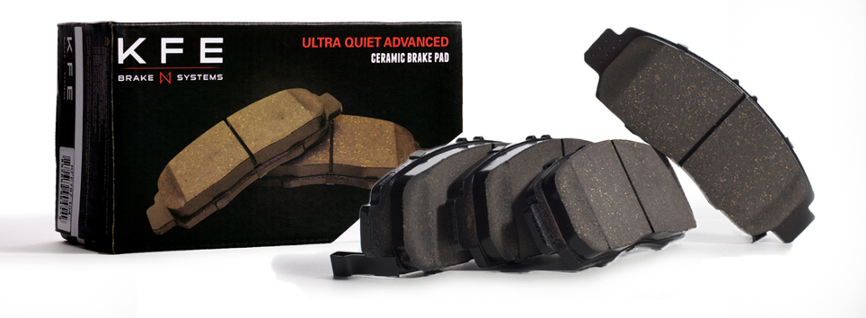 KFE Ultra Quiet Advanced Brake Pad