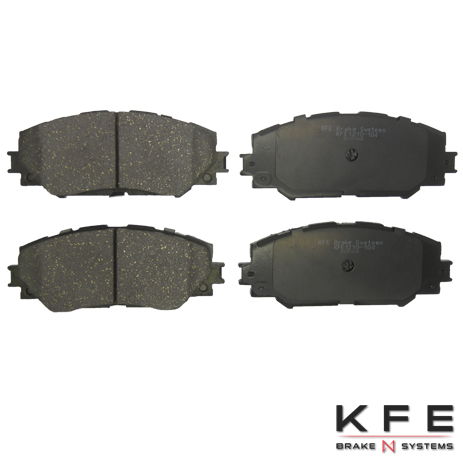Front Ceramic Brake Pad KFE1210-104