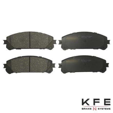 Front KFE1324-104 Ceramic Brake Pad