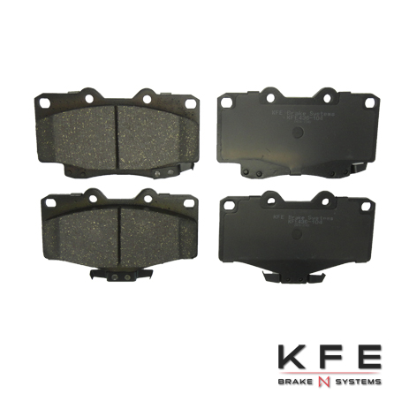 Front Ceramic Brake Pad - KFE436-104
